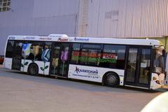 Реклама на транспорте в Воронеже – заказать на фабрике «Знак»