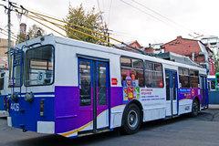Реклама на транспорте – изготовление в Воронеже на заказ